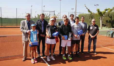 Els guanyadors i finalistes del Trofeu Albert Costa d'aquesta edició.