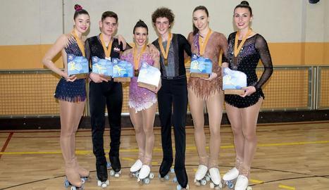 Set lleidatans, classificats per al Campionat de Catalunya