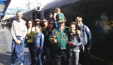 El Tren dels Llacs estrena amb èxit la novena temporada amb 300 passatgers