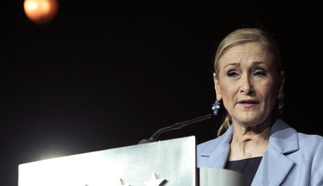 Imatge de la presidenta regional, Cristina Cifuentes.