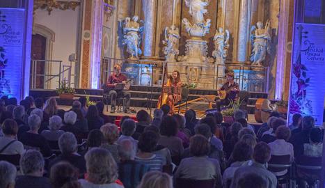 El Festival de Pasqua de Cervera es consolida com un referent de la música clàssica catalana