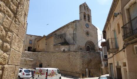 L'església de Sant Joan Baptista de Vinaixa.