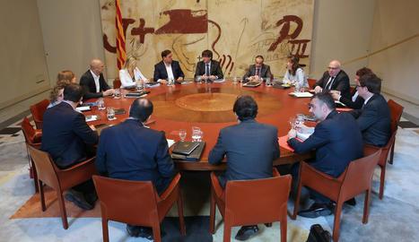 La reunió del Govern.