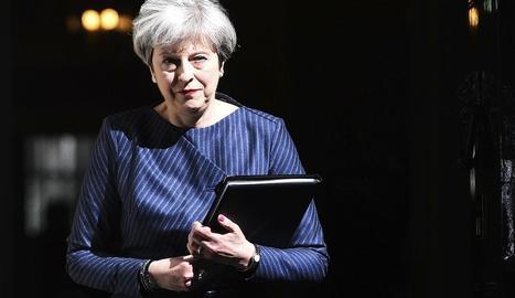 La primera ministra britànica, la conservadora Theresa May, va anunciar l'avanç de les eleccions.