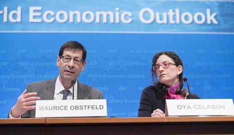 L'FMI va presentar ahir l'informe de perspectives de creixement.
