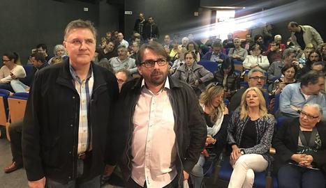Camil Ros i José Luis Aguilà.