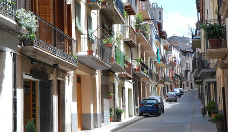 Imatge del carrer Major de