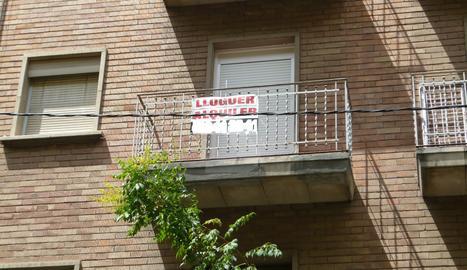 Un pis de lloguer a Lleida.
