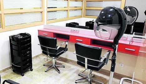 El servei de perruqueria que ofereixen les instal·lacions.