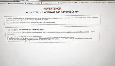 Cryptolocker, mentides i xantatge