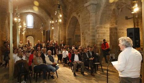 Josep Borrell va exercir d'amfitrió a l'església de Sant Martí en la recepció institucional de Sant Jordi.