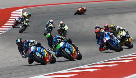 Àlex Màrquez, seguit per Franco Morbidelli, que va sumar la tercera victòria en Moto2.