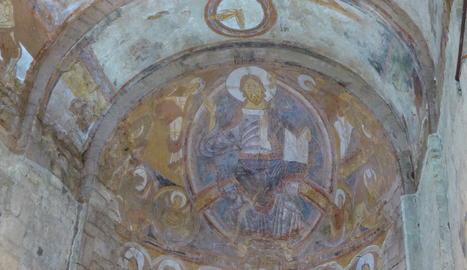 Imatge del Pantocràtor de Sant Climent de Taüll