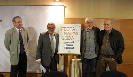 L'acte de presentació del cartell de la Festa Major de Maig  de Lleida,