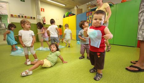 Imatge d'arxiu d'una escola bressol de Lleida