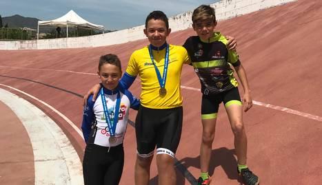 Or i plata per a Lleida en ciclisme de pista