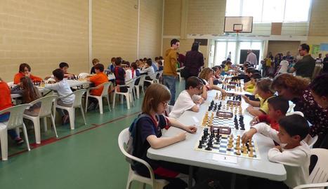 Lliga Escolar d'escacs al Sagrada