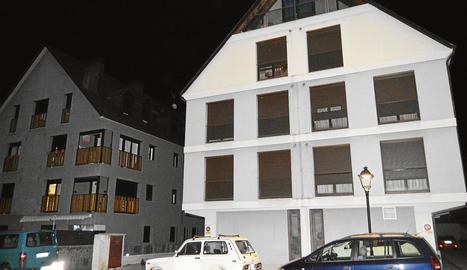 Imatge de l'edifici on es va trobar el cadàver.
