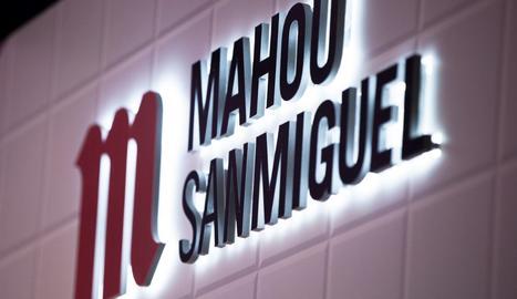 El logo de Mahou San Miguel