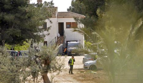 Imatge de l'habitatge a Teulada on va ser capturat el presumpte jihadista.