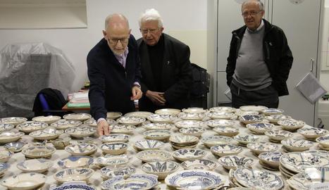El Museu de Lleida rep en dipòsit més de 1.600 objectes ceràmics de Bellpuig