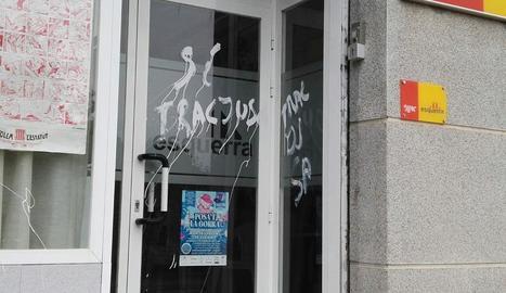 La seu d'ERC a les Borges.