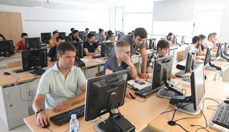 Un curs de la Universitat d'estiu de la UdL a Cappont.