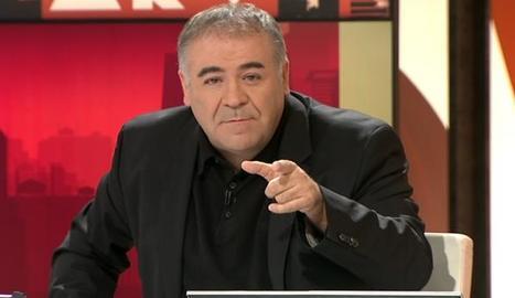 García Ferreras en ple programa.