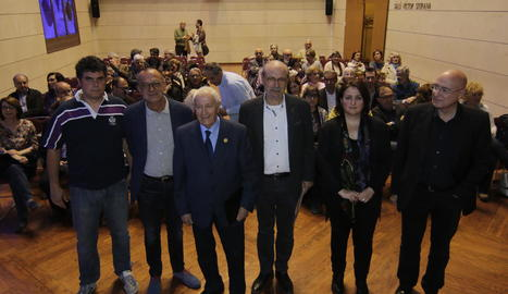 Ramon Usall, Miquel Pueyo, Josep Vallverdú, Joan Biscarri, Anna Sàez i Joan Manuel Tresserras.