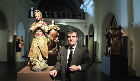 El director del Museu de Lleida, Josep Giralt, rebrà el guardó representant l'equipament.