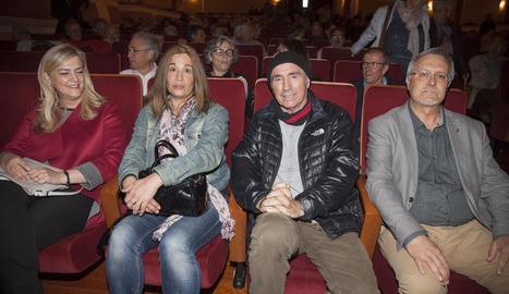 Lluís Llach, al Teatre Armengol de Bellpuig.