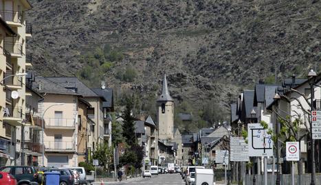 Vista d'Esterri d'Àneu, on van tenir lloc els fets.