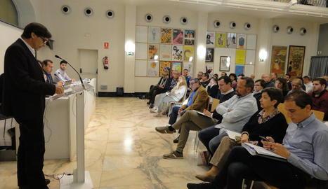 El consell de federació del PSC celebrat ahir.