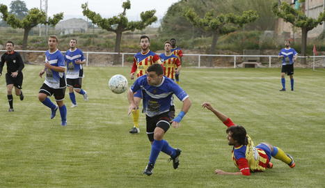 El Bellpuig i el Solsona van disputar un intens partit que van acabar guanyant els locals.