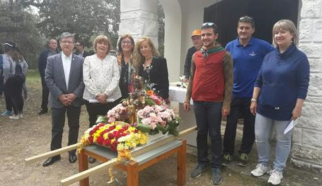 Raimat celebra la festa de l'ermita de Montserrat