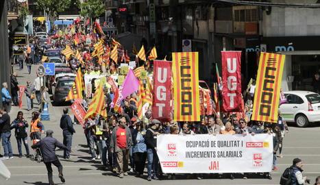 Primero de Mayo en Lleida