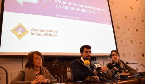 L'ajuntament va presentar ahir el procés participatiu.