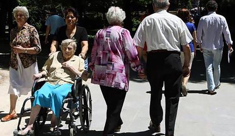 La caiguda de la població activa, un problema per al sosteniment del sistema públic de pensions.