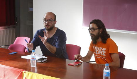 Carles Puigdemont, Neus Munté i Joan Vidal, ahir a l'arribar al Consell Executiu.