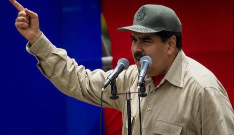 Imatge del president veneçolà, Nicolás Maduro.