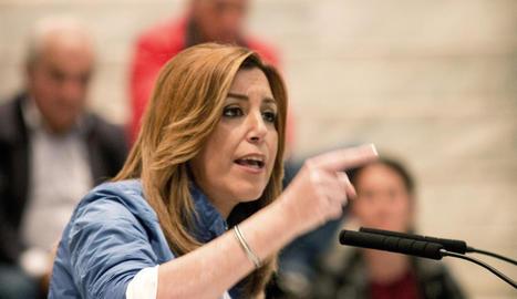 Susana Díaz, candidata a les primàries del PSOE.