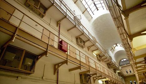 L'interior de la presó Model de Barcelona.