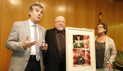 L'Ateneu Popular entrega el seu premi al Museu de Lleida