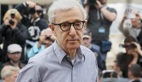 Imatge d'arxiu del cineasta i músic Woody Allen.