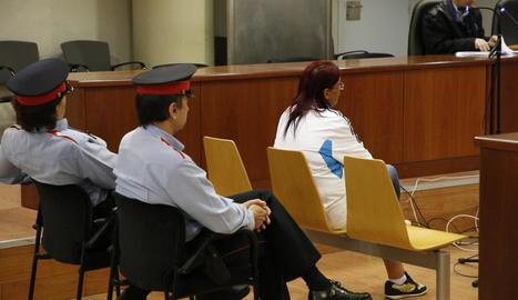 El judici celebrat ahir a l'Audiència de Lleida.