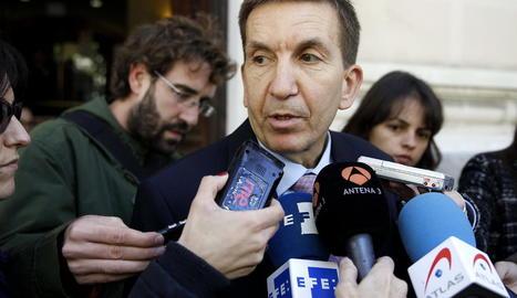 El fiscal en cap Anticorrupció, Manuel Moix, en foto d'arxiu.