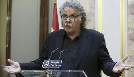 Imatge del portaveu d'ERC al Congrés, Joan Tardà.