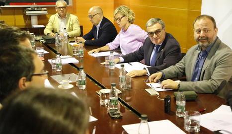 La Comissió de Transparència celebrada aquest divendres.