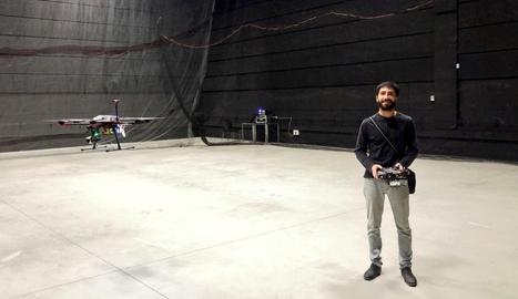 Passió pels drons a Lleida