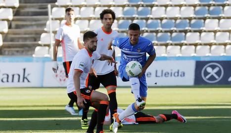El Lleida empata amb el València B (1-1) i queda fora del play off a l'espera del TAD